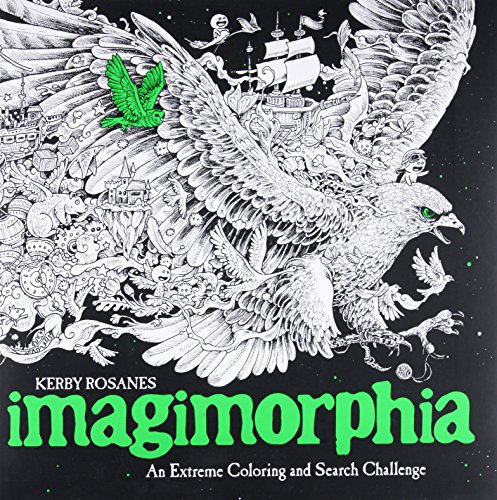 Imagimorphia: An Extreme Coloring and Search Challenge (Bear Polar Express Book)