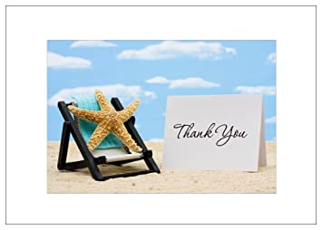 Amazon.com: NW Pitney tinta Starfish gracias tarjeta de ...