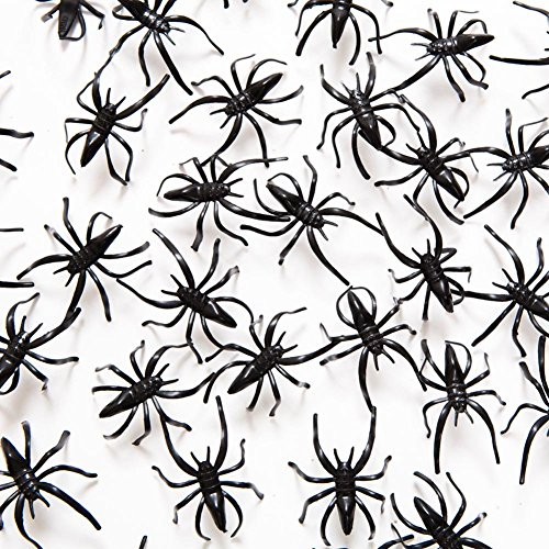 Fun Express Plastic Long-Legged Spiders | 2-Pack (288 Count) | Great Halloween-Themed Details | Children Age 3+