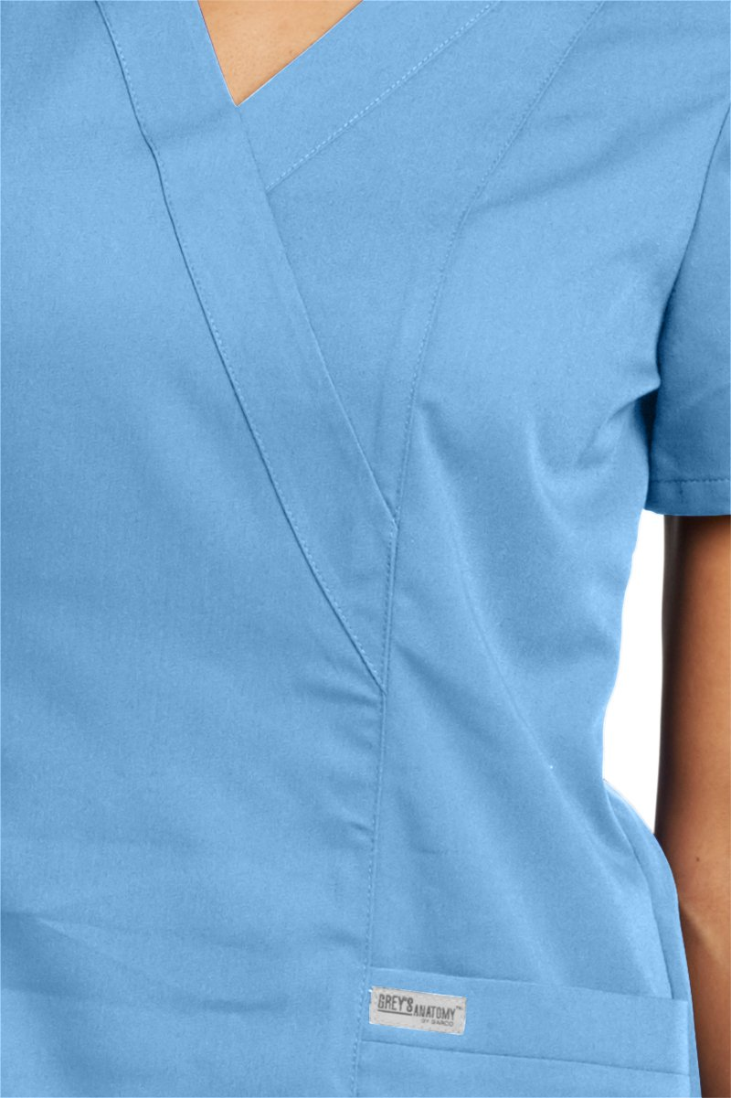 Grey's Anatomy Womens Scrubs, Ciel, Large by Barco (Image #3)