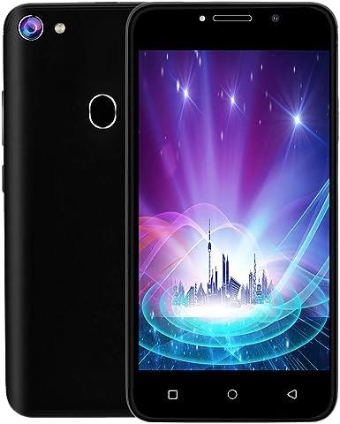 Xbo F5+ - Teléfonos móviles desbloqueados, Pantalla de 5,0 Pulgadas, 3G LTE Android 7.0 Cell Phone Smartphone 2 SIM 4 GB WiFi 5 MP AT&T 512 + 4 GB: Amazon.es: Electrónica