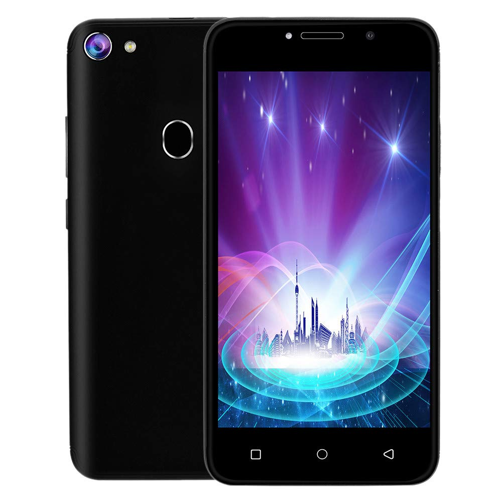 Sunsee Unlocked 3G LTE Android 7.0 Cell Phone Smartphone 2 SIM 4GB WiFi 5MP AT&T (Black, Dimensions: 145 x 74 x 8.2mm)