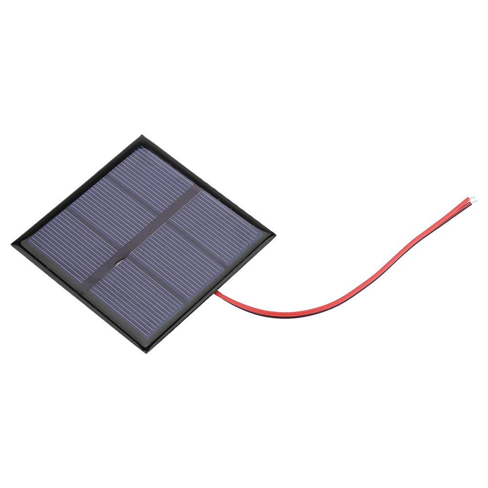 Fdit 0.7 W 1.5 V Mini caricatore solare di energia da pannello solare cellula di Polisilicio per batteria da 1.2 V con filo 70 * 70 mm socialme-eu