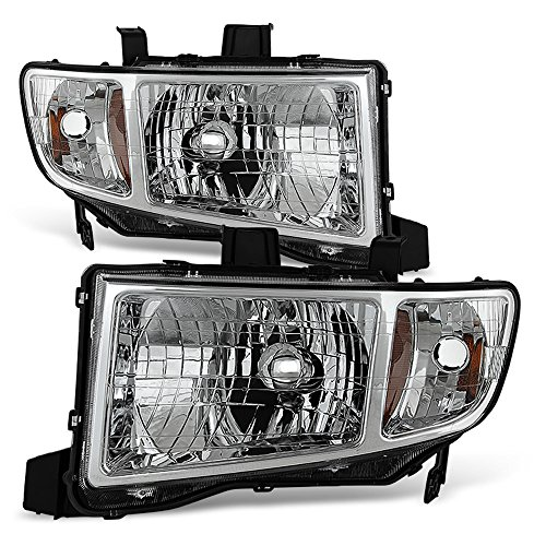ACANII - For 2006-2014 Honda Ridgeline Pickup Headlights Headlamps Replacement Driver + Passenger Side