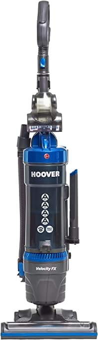 Hoover Velocity Bagless Upright Vacuum Cleaner, VL81VL51, Multi Cyclonic, Powerful, Carpets, Pets, Above Floor Cleaning