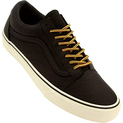 4aa8ce1941 Vans Old Skool California Reissue Black Leather Vanilla Ice (UK 10)   Amazon.co.uk  Shoes   Bags