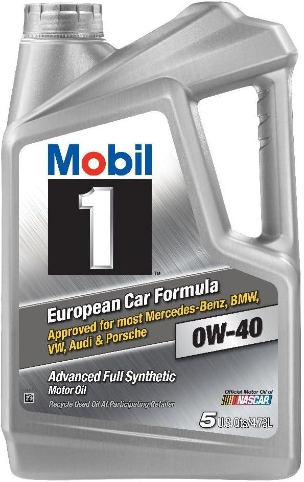 Mobil 1 (120760) 0W-40 Motor Oil, 5 Quart, Pack of 2 (Best oil for VQ35HR)