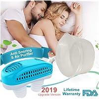 2-en-1 Dispositivos Anti Ronquidos, Actualizado Soluciones Anti Ronquidos Respiraderos de Nariz Antirronquidos Ronquido se Detiene Ronquido Dilatadores Nasales Ayudas para Dormir para Hombres Mujeres