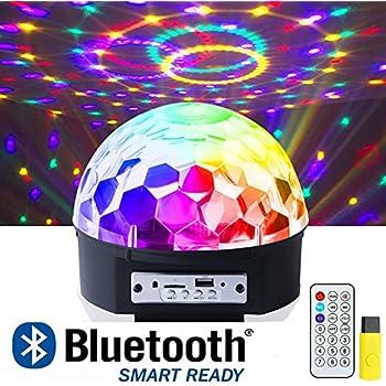 Amazon Com Delightime Led Full Color Disco Light Party