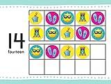 hand2mind Seasonal Ten-Frame Counters for Kids