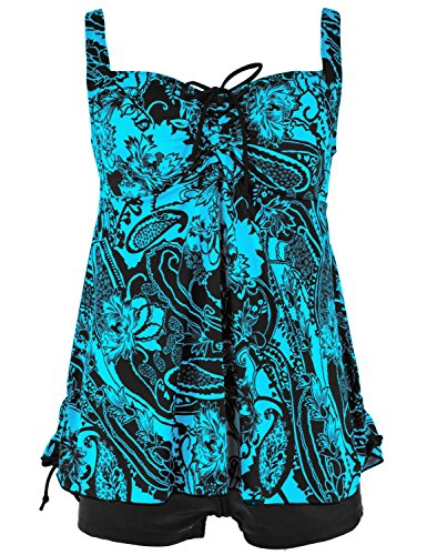 Drawstring Two Piece Swimsuit - 4