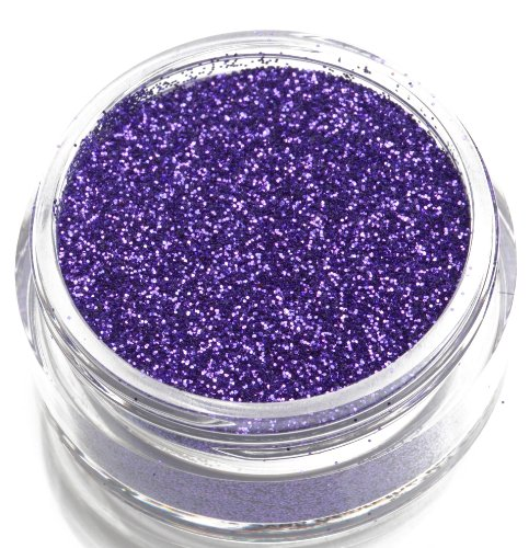 Glimmer Body Art Purple Body Glitter Party -