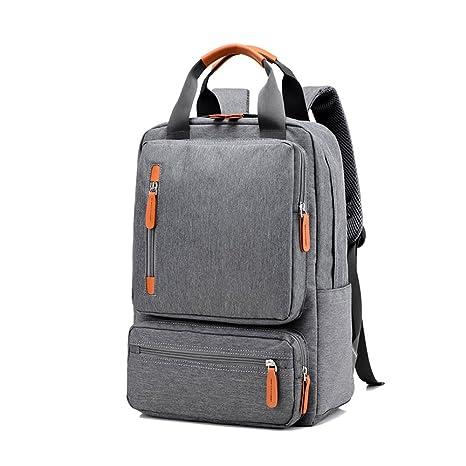 Mochila de viaje deportivo ocasional, mochila de lona de moda Mochila de ordenador portátil unisex