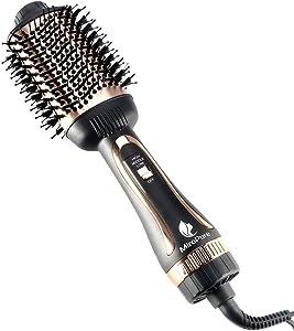 Hair Dryer Brush, MiroPure Hot Air Brush One Step Hair Dryer & Volumizer 4 in 1 Brush Blow Dryer Styler for Straightening, Curling, Salon Negative Ion Blow Dryer Brush