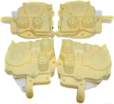 Amazon Com 72155s84a11 Front Rear Left Right Power Door Lock Actuator For Honda Accord 4pcs Automotive