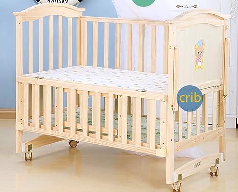Kli culla neonato con zanzariera letto massello in legno massello