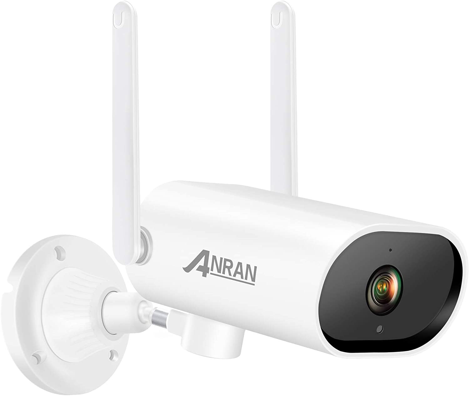[Pan Tracking] ANRAN 1080P Full HD Home Wireless WiFi Camera for Home Surveillance Video System Indoor Outdoor Security Camera with Two Way Audio,Night Vision,Motion Alert,Remote Access, 32GB SD Card
