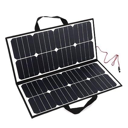 YEDENGPAO Cargador Solar, Banco De Energía Solar Portátil ...