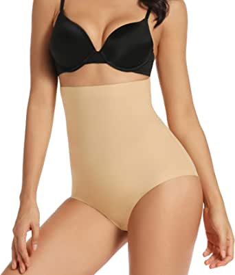 Shapewear High Waist Brief Seamless Tummy Control Panties for Women Body Shaper Panty Girdle