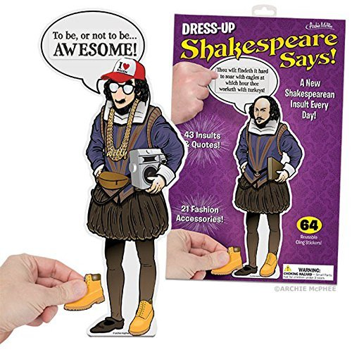 Dress-Up Shakespeare Says by Accoutrements by Accoutrements