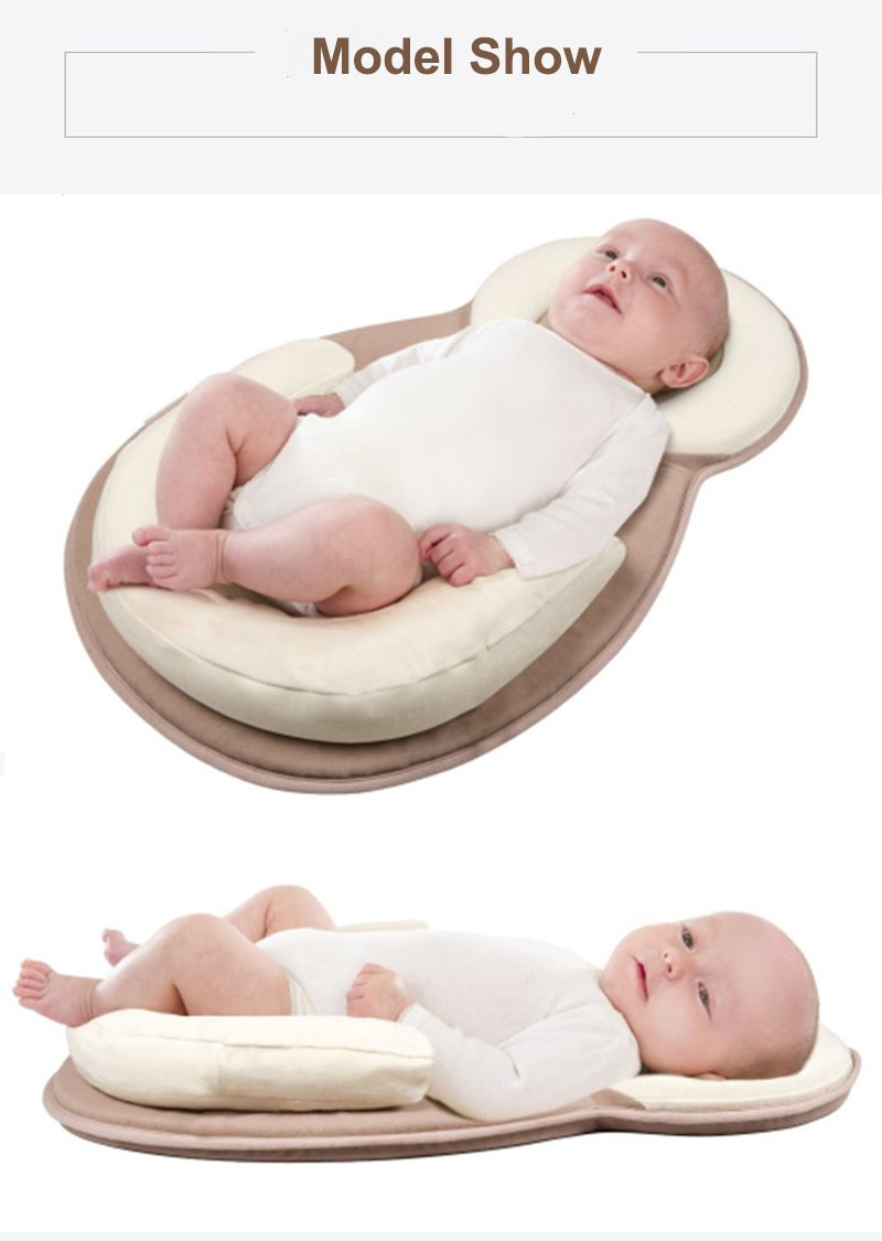 BabyFied Baby Bassinet for Bed | Diaper Changing Bed | Baby Lounger | Breathable & Hypoallergenic Co-Sleeping Baby Bed - 100% Cotton Portable Crib for Bedroom/Travel Baby Lounger Newborn Portable Crib
