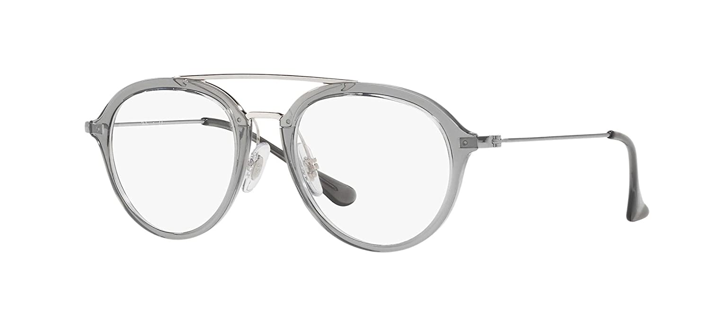 8f7c826452 Amazon.com  Ray-Ban Junior RB9065V 3744 Eyeglasses Grey 48mm  Clothing