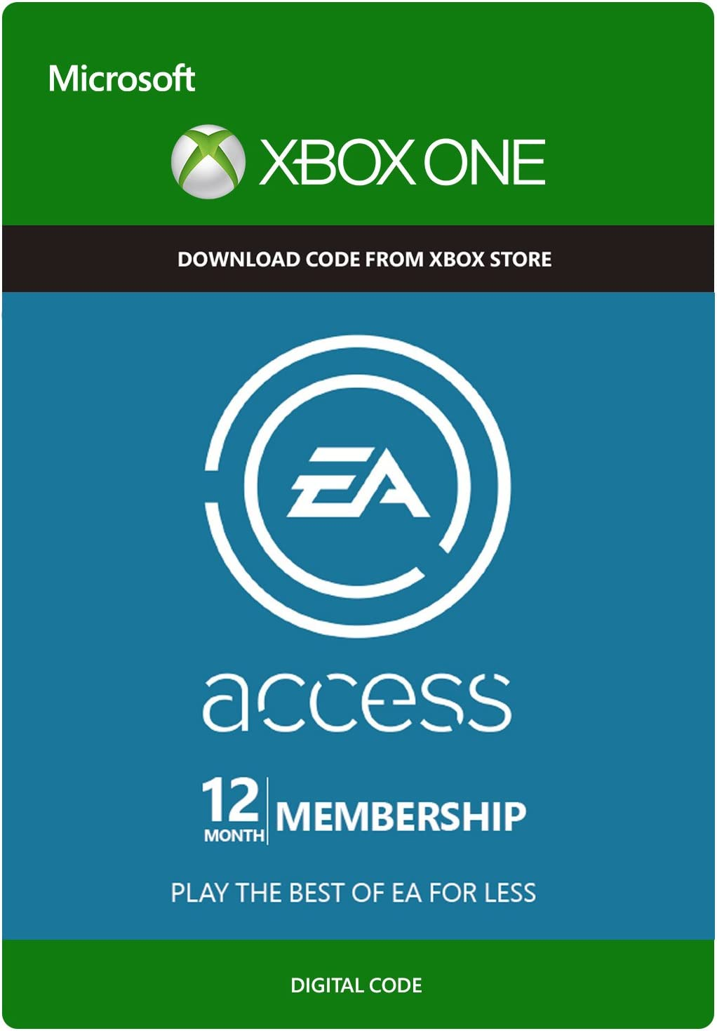 Amazon.com: EA Access 12 Month Subscription - Xbox One ...