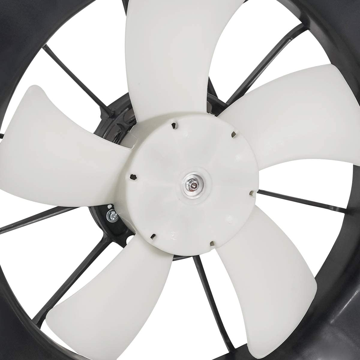 DNA Motoring OEM-RF-0195 HO3115120 Factory Style Radiator Cooling Fan Assembly Replacement