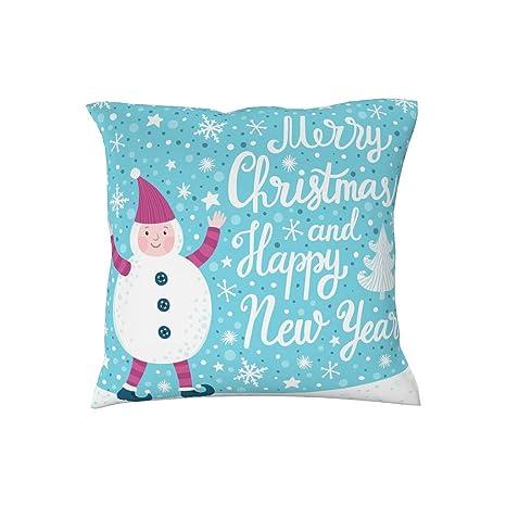 Amazon.com: MOOBAST - Funda de almohada de Navidad para sala ...