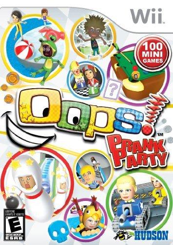Oops! Prank Party - Nintendo Wii by Konami