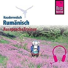 Rumänisch (Reise Know-How Kauderwelsch AusspracheTrainer) Hörbuch von Jürgen Salzer Gesprochen von: Johann Stefani, Kerstin Belz
