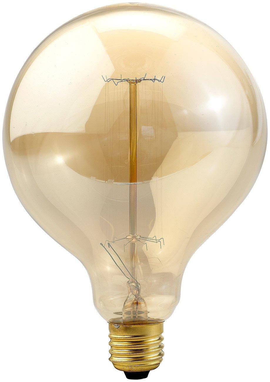 Luminea Lampe Glühdraht: Vintage-Globe-Schmucklampe mit ...
