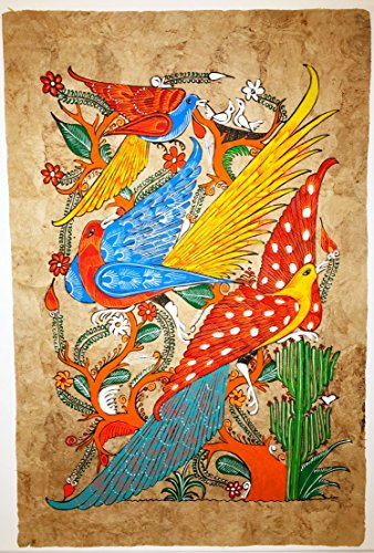 Bark Painting Mexican (Mexican Amate Bark Painting)