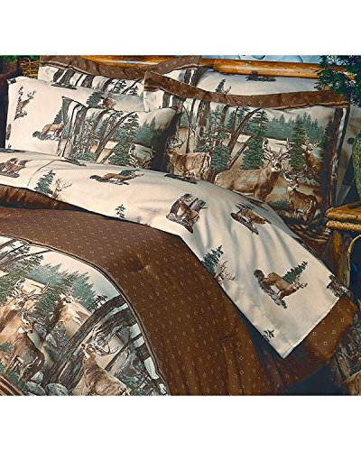 Ridge Furniture Blue (Whitetail Dreams - Queen Sheet Set)