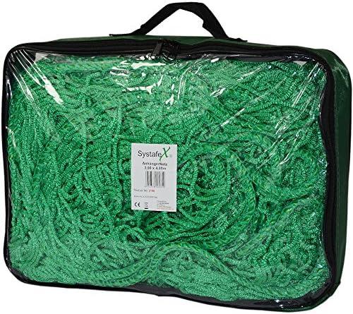 3m x 4m Anh/ängernetz knotenlos m Expanderseil Abdecknetz zur Ladungssicherung