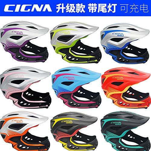 子供フルフェイスヘルメットシグナシグナストライダー子供クルマのバランスのk個の露光用ヘルメット防護服に乗って車の半分のヘルメットをスライディング   B07RXC6CX2