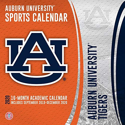 Auburn Tigers 2020 Calendar