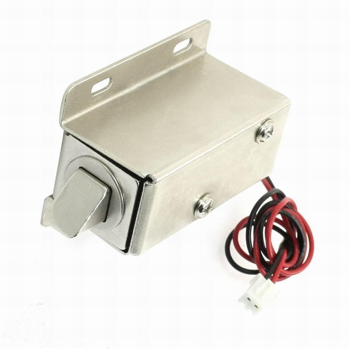 MariaP 24V 16W 5mm/500g 2mm/850g Open Frame Push Actuator Door Lock Solenoid