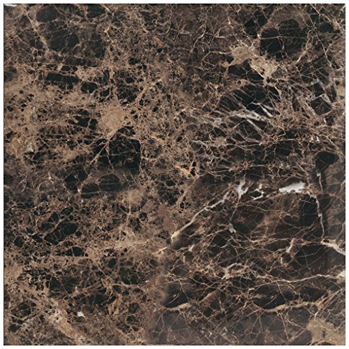 "Marble Collection - 12"" x 12"" Square Multi-Surface Tile - Polished Marble Visual - Daltile M72512121L"