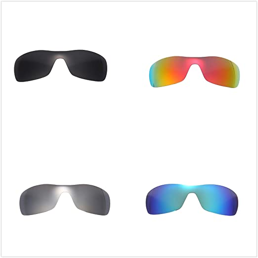8572238197e Image Unavailable. Image not available for. Color  Set of 4 Polarized  Replacement Lenses for Oakley Antix Sunglasses NicelyFit