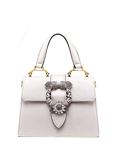 7742a6abc529 Image Unavailable. Image not available for. Color  LA FESTIN Ladies Cute  Bags Dazzling Jewels Shoulder Chain Purse ...