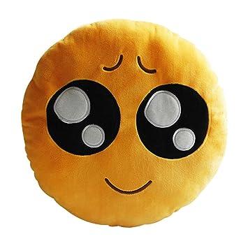 Amazon.com: Ronda OI Emoticono Cojín Almohada Stuffed Plush ...