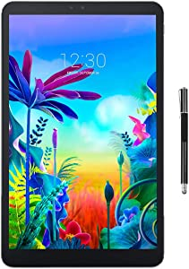 LG G Pad 5 10.1-inch (1920x1200) 4GB LTE Unlocked Tablet, Qualcomm MSM8996 Snapdragon 821 2.34GHz Processor, 4GB RAM, 32GB Storage, Bluetooth, Fingerprint Sensor, Android 9.0 w/Mazery Stylus Pen