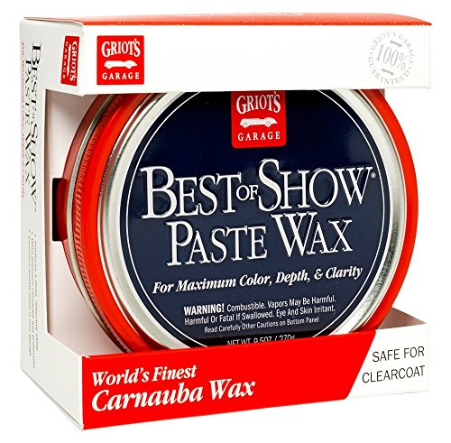 Griot's Garage 10871 Best of Show Paste Wax 9.5oz