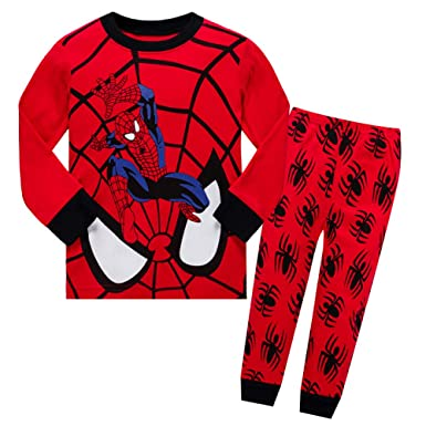 XCZKL Kids Dinosaur Pyjamas Sets Toddler Pjs Sleepwear 1-8 ...