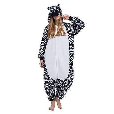 Pijama Onesie Adultos Mujer Cosplay Animal Disfraces Halloween Carnaval Cosume: Ropa y accesorios