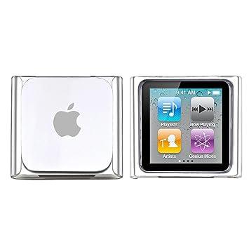 Funda Dura Case Cover Carcasa Clara Para Apple iPod Nano 6 6th Gen Transparente
