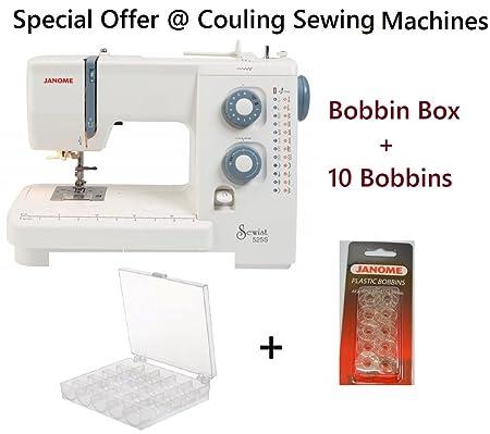 Janome Sewist 40S Sewing Machine Bobbin Box 40 Bobbins Offer Unique Janome 525s Sewing Machine Review