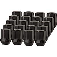 Solid Wheel Lug Nut for Chrysler 300 Dodge Charger Challenger RAM 1500 20 Lug Nuts Black LCB3D8HEOBK04020