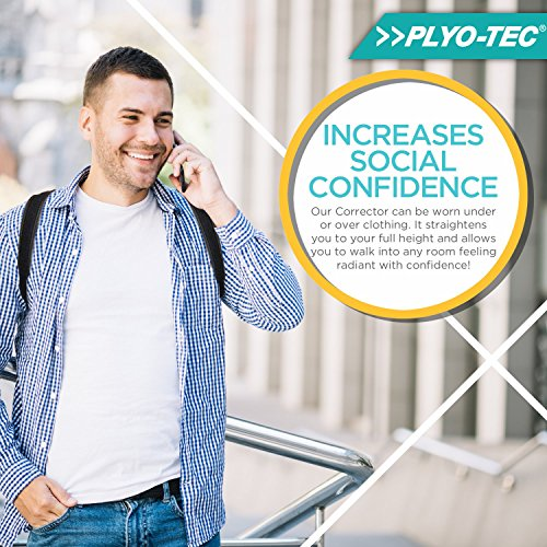 PLYO-TEC-Premium-Back-Support-Posture-Corrector-Brace-Trainer-for-Men-Women-Providing-Relief-from-Neck-Pain-Back-Pain-Shoulder-Pain-Bad-Posture